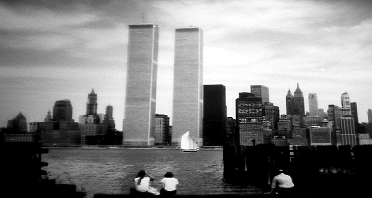 WTC fron NJ 1990