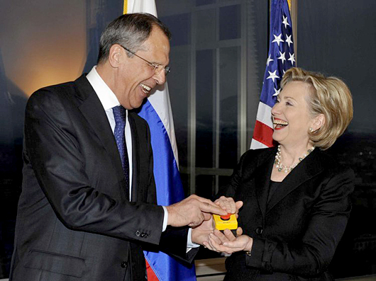 Russia Reset Button