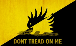 porc dont tread on me