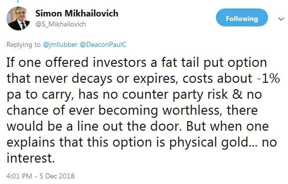 Simon Mikhailovich on a Gold Position