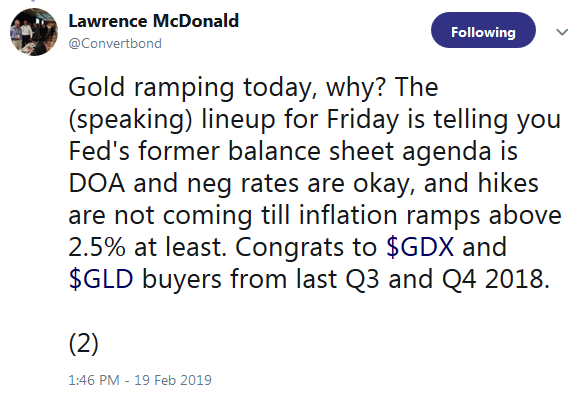 Lawrence McDonald on Twitter - Gold Advance Due to Global NIRP and Monetary Policies