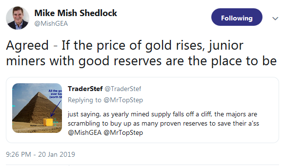 Mish Shedlock Agrees that Sam Zell Buying Gold for Right Reason