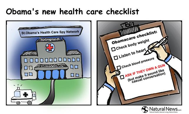 ObamaCare Healthcare Gun Checkup