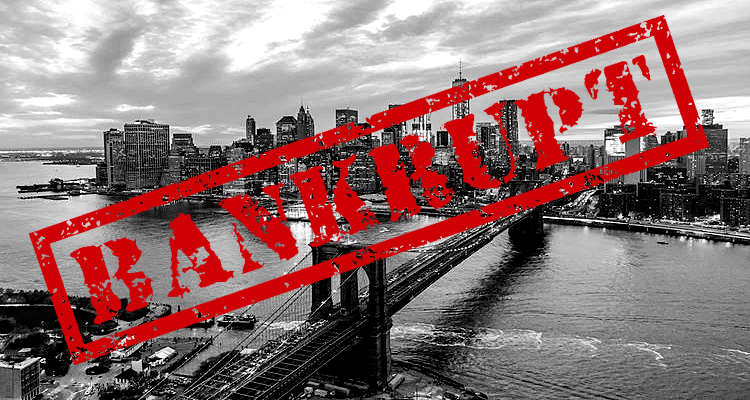 Pension Funds Unable to Save New York City from Bankruptcy Again