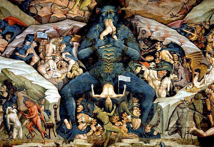 Inferno by Giovanni da Modena