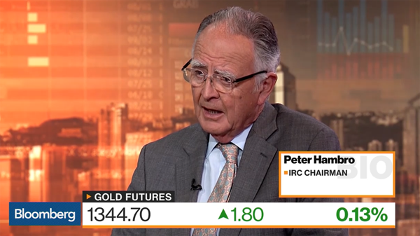 Peter Hambro's Gold Interview on Bloomberg June 17, 1158pm 2019