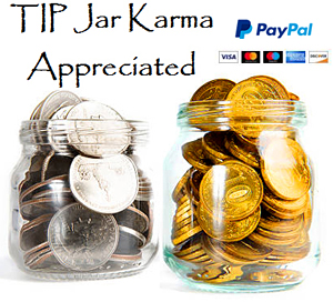 Tip Jar for TraderStef