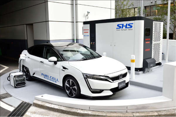 Honda Global Smart Hydrogen Station
