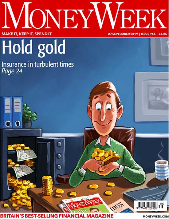 MoneyWeek September 2019 Gold Cover
