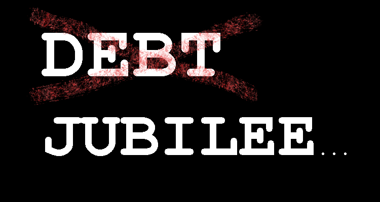 Debt Jubilees on the Periphery of Bubbles as the Rich Hunker Down