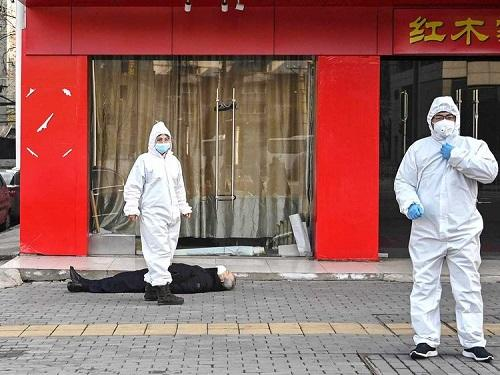 Dropping Dead on the Streets in China due to Coronavirus Myocarditis