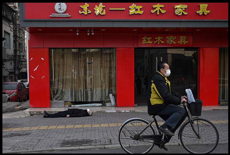 Wuhan Dead Bodies in the Street
