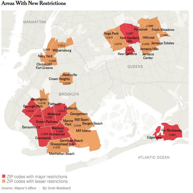 NYC October 2020 Lockdowns