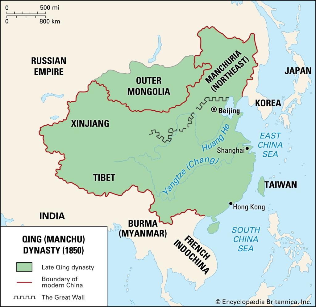 China Qing Dynasty