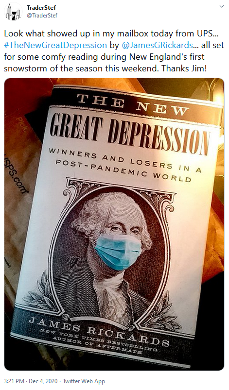 The New Great Depression by Jim Rickards