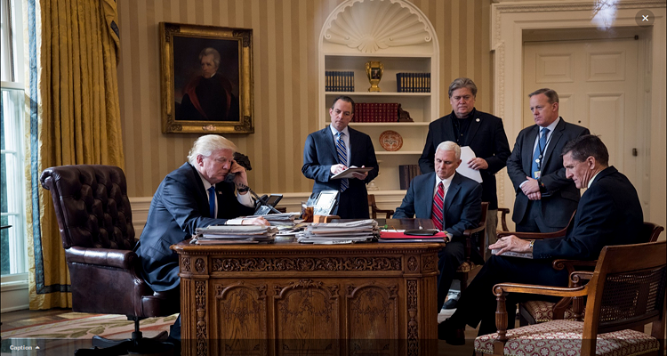 Trump the Jacksonian Oval Office - May 2017