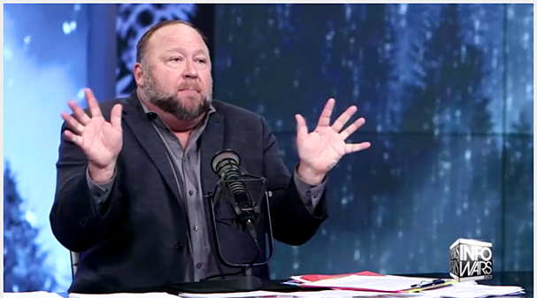 Alex Jones Video Screenshot