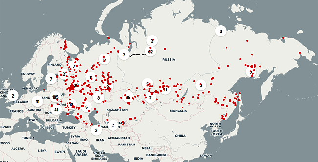 Gulag Map