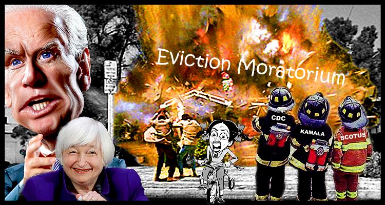An Eviction Moratorium Extension From Biden's Sanitarium