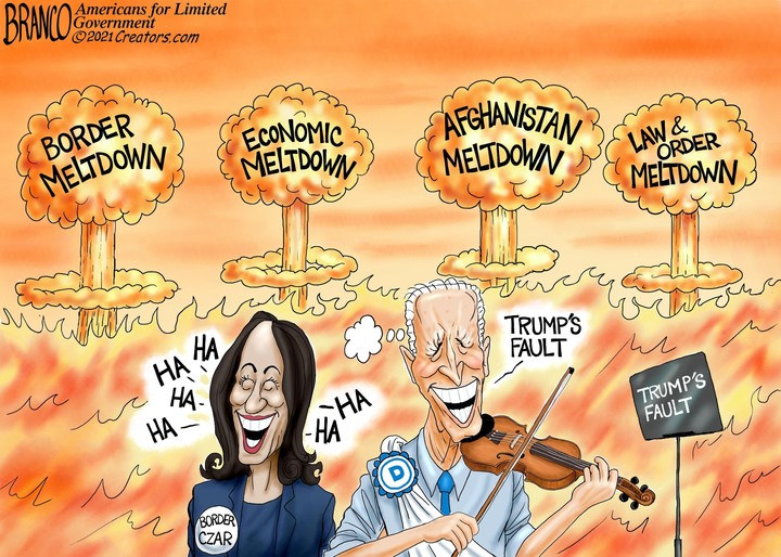 Biden and Kamala Policy Disasters by Branco