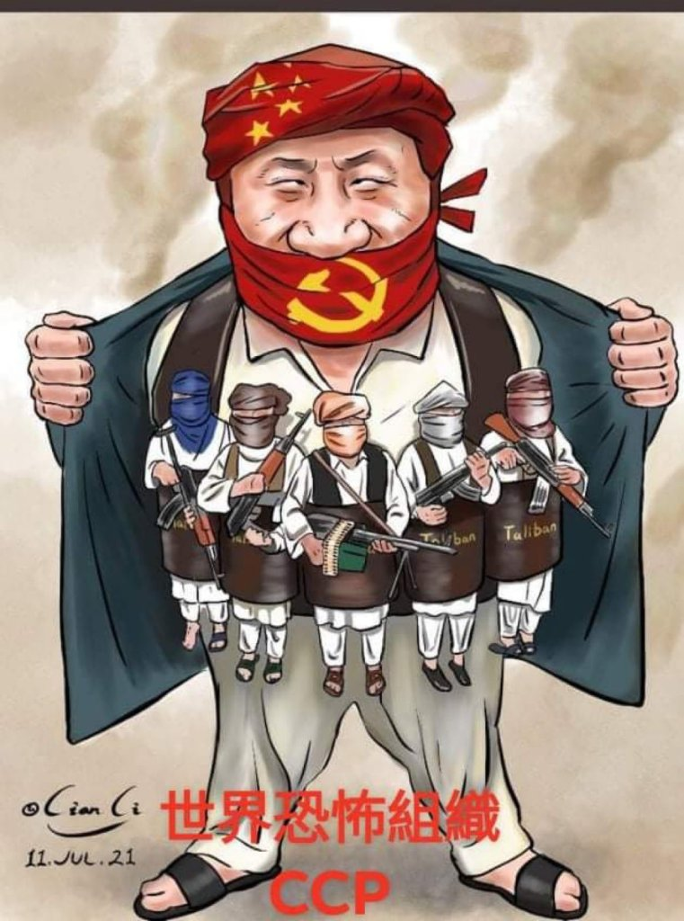 China and the Taliban Working Together