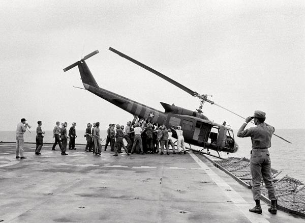 U.S. Retreat from Saigon, Vietnam